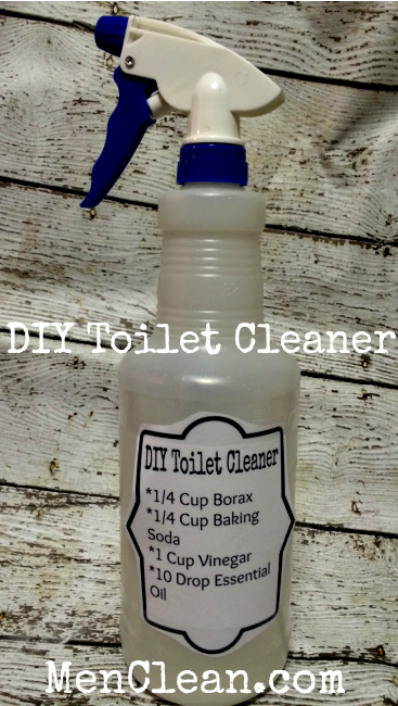 Homemade Toilet Cleaner