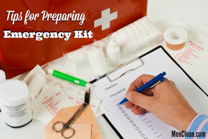 Cleaning Up Your Emergency Kit