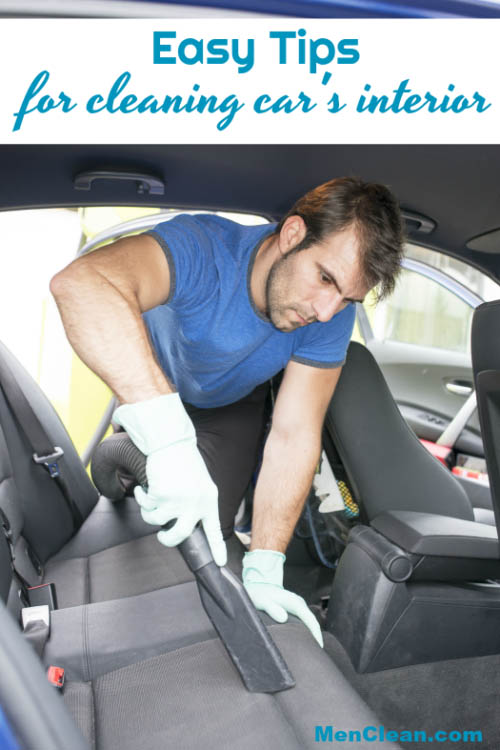 Make sure your car is clean. Check out these easy tips for cleaning your car's interior