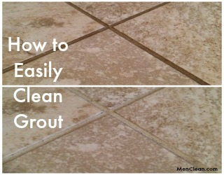 how to keep white grout clean in bathroom
