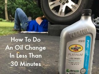 How To Do An Oil Change In Less Than 30 Minutes