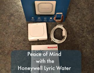 Peace of Mind with The Honeywell Lyric Water Leak and Freeze Detector & Lyric Thermostat