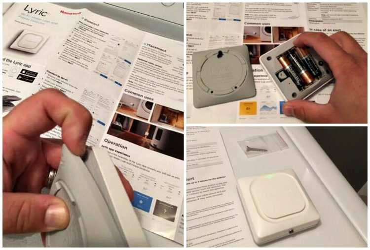 Get peace of mind with the The Honeywell Lyric Water Leak and Freeze Detector