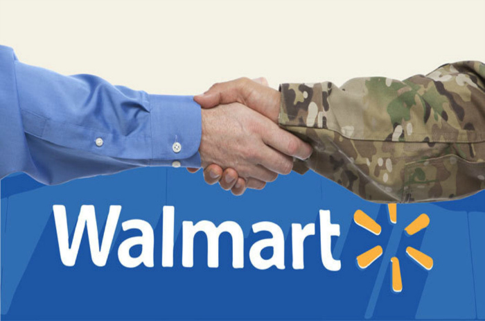 Walmart is an example of a US corporation that has taken on a greater responsibility to hire our veterans. Walmart introduced Veterans Welcome Home Commitment, which guaranteed a job offer to any eligible, honorably discharged U.S. veteran who was within 12 months of active duty.