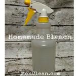 DIY Cleaning Bleach