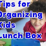 Organizing Lunch Box for Kids