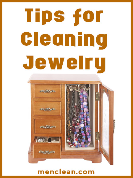 cleaning jewelry at home