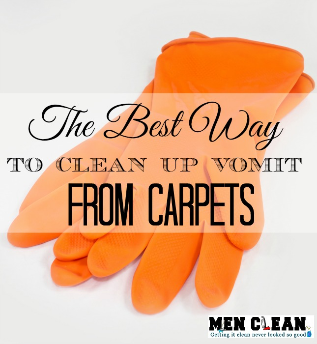 Clean Vomit Out of Carpet - menclean.com