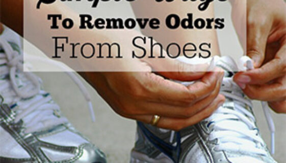 Remove shoe odor easily with these tips.