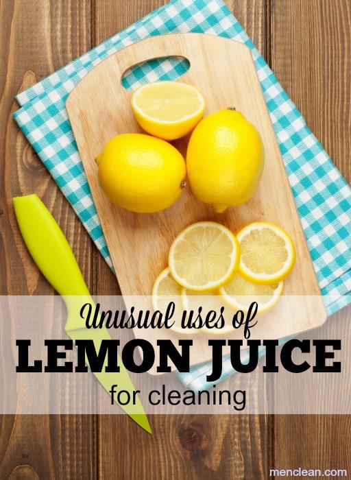 Many Uses of Lemon Juice