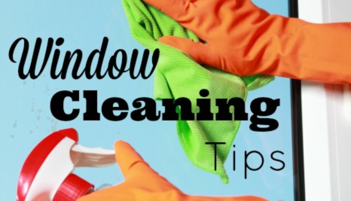 Easy window cleaning tips