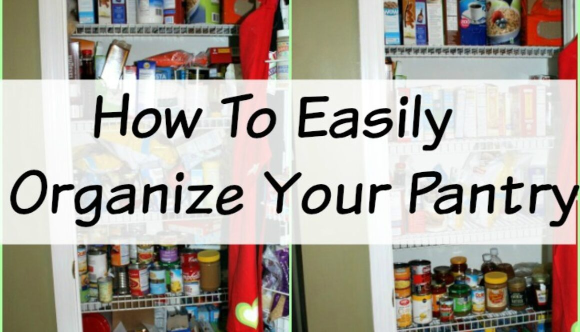 How to Organize Pantry