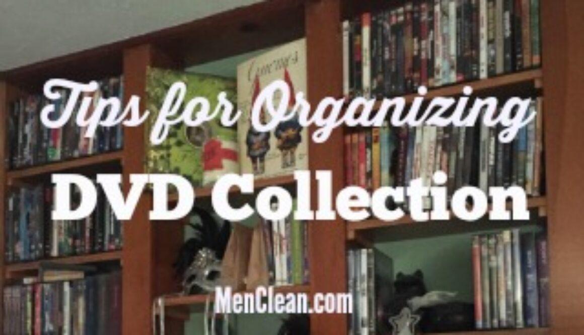 organizing dvd