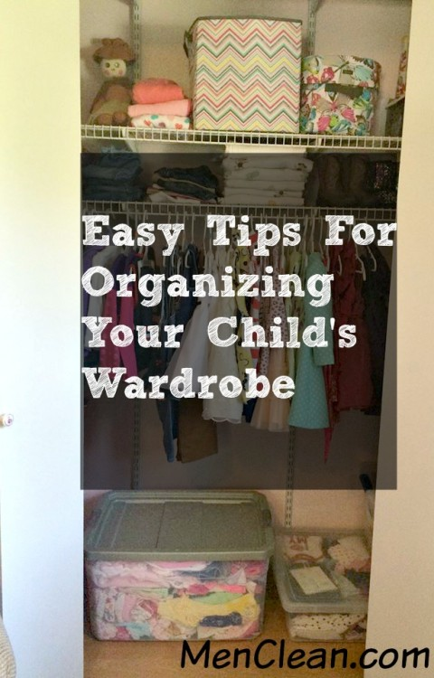 Easy Tips for Organizing Your Child's Wardrobe