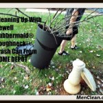 Cleaning Up with NEWELL RUBBERMAID® ROUGHNECK™ TRASH CAN From HOME DEPOT