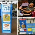 The Best Family Cell Phone Plan – Data and a Movie with Walmart Family Mobile Plus!