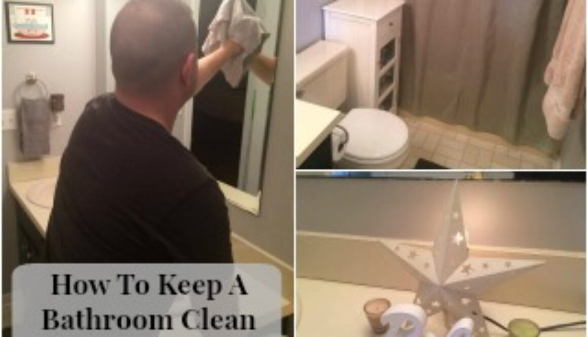 How To Keep A Bathroom Clean For Good with this simple steps
