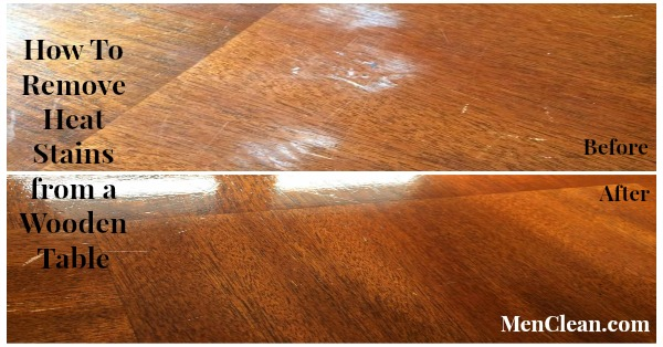 How To Remove White Heat Stains From A Wooden Table You. How To Remove Heat Stains From Wood Furniture Using An Iron   Best
