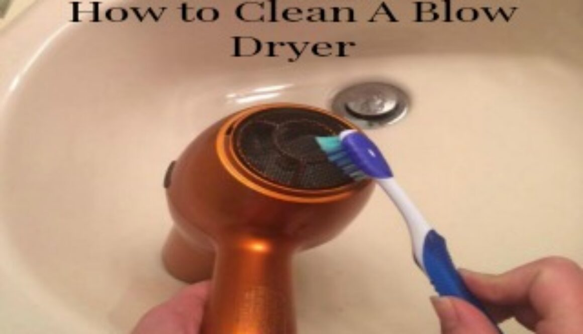 How to clean a blow dryer 320