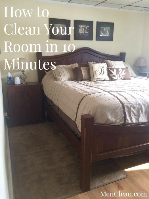 How to clean your room in 10 minutes PIN