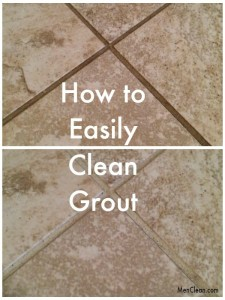 How to easily clean grout 525