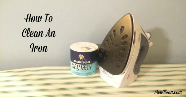 Quick Tips On Cleaning An Iron to make it look like new!