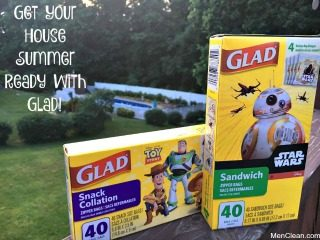 Tips for Getting Your House Organized with Glad Bags