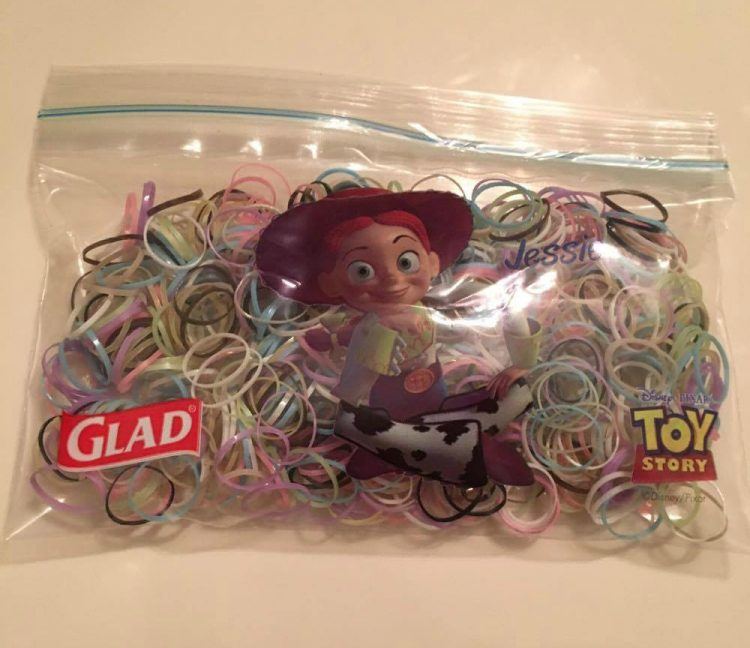 getting organized with Glad bags