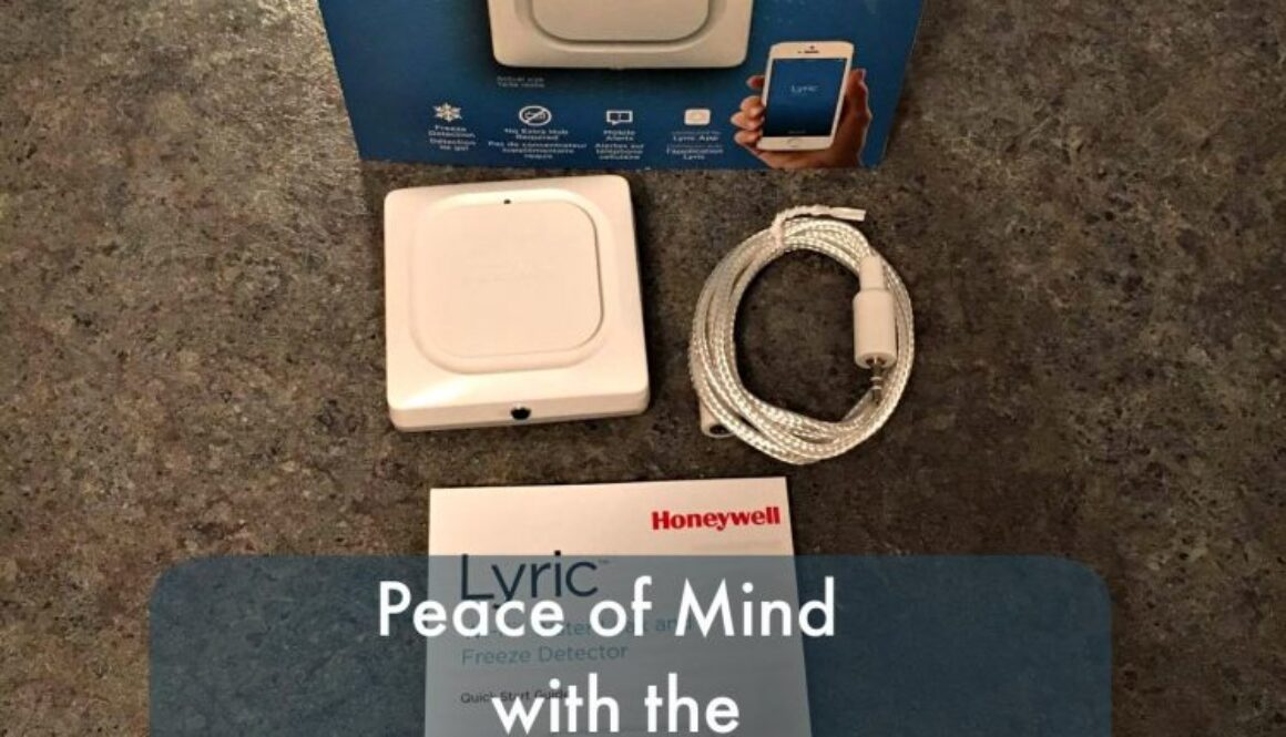 Getting peace of mind with the Honeywell Lyric Water Leak and Freeze Detector